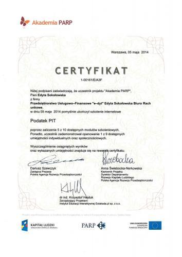 certyfikat 6